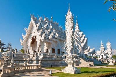 """Храм Ват Ронг Кхун (""""Белый Храм""""). Таиланд"""